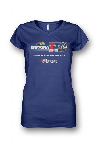 Event: 2017 Daytona - Women's V-Neck S/S Navy