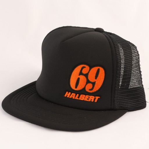 Sammy Halbert Black/Orange 69 Hat