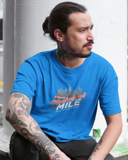 Event: 2018 Meadowlands - Men's T-Shirt Sapphire Blue