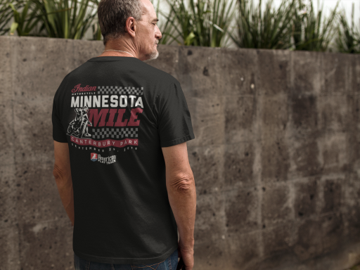 Event: 2018 Minnesota  - Men's T-Shirt Black