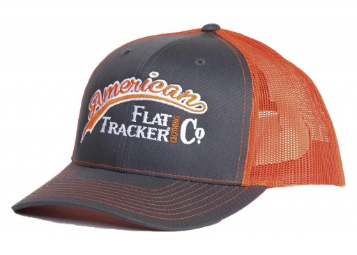 AFTCC: Charcoal Orange Snapback Hat
