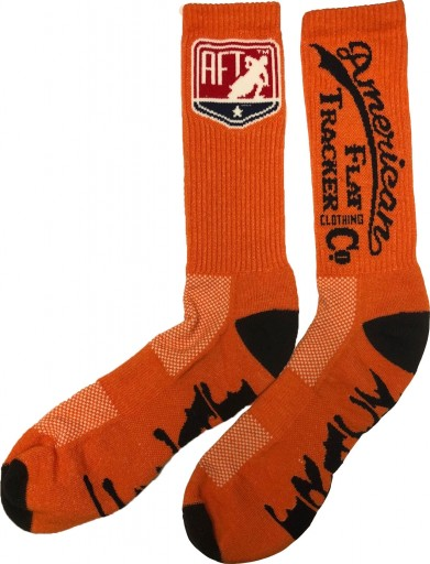 AFTCC:  Sock -  Crew Orange