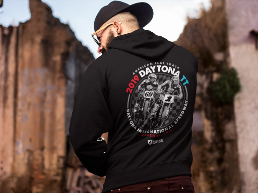 Event: 2019 Daytona TT - Men's Hoodie Black