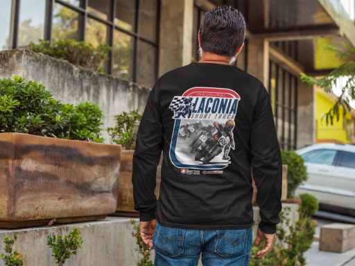 2019 Laconia Short Track Long Sleeve Event T-Shirt