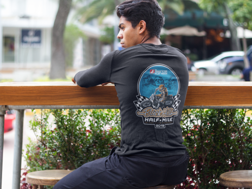 2019 Black Hills Half-Mile Long Sleeve Event T-Shirt