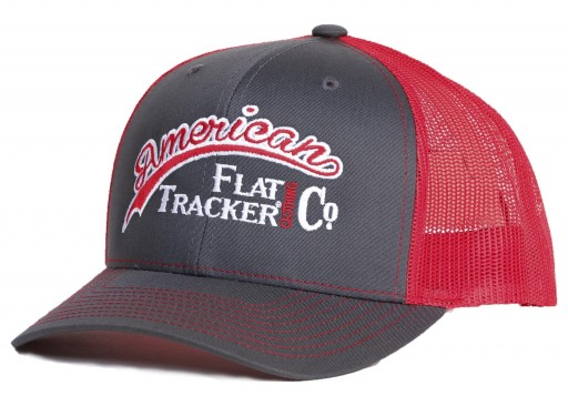 AFTCC: Charcoal Red Snapback Hat