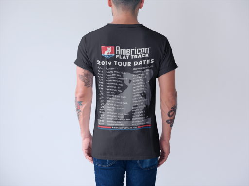 AFTCC:  2019 Schedule -  T-Shirt Black