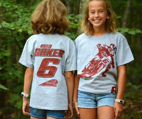 Youth Brad Baker Authentic Tee