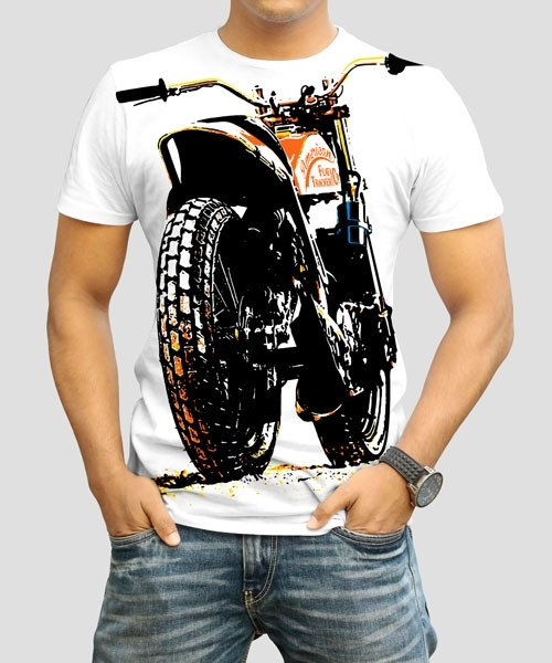 DYE SUBLIMATION MEN'S BIKE PRINT