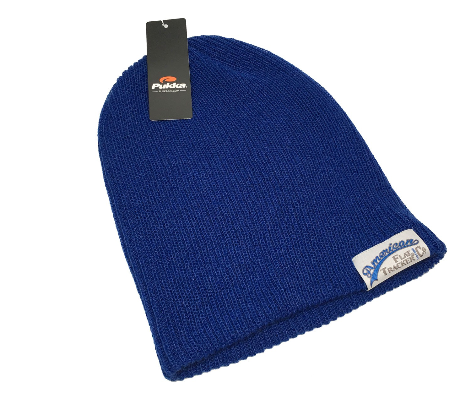AMERICAN FLAT TRACKER KNIT CAP - BLUE !! SALE !! 67% OFF