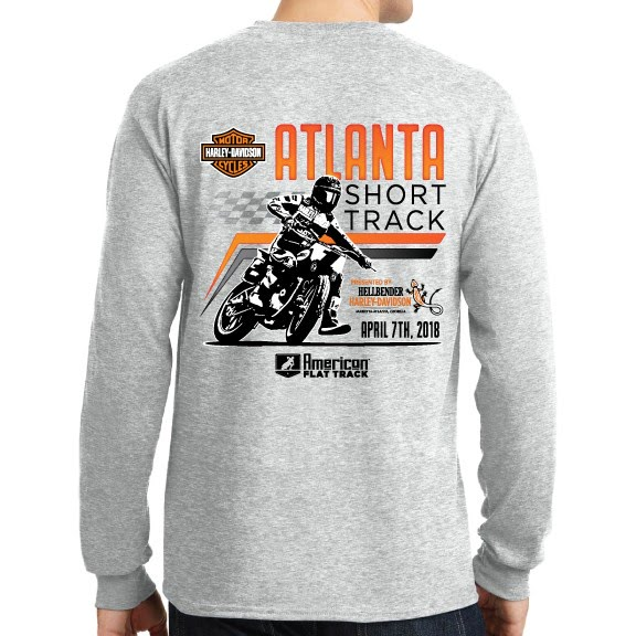Event: 2018 Atlanta - Shirt - Men's L/S Grey