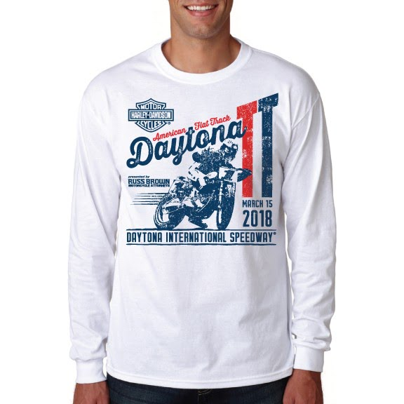 Event: 2018 DAYTONA TT - Men's L/S White
