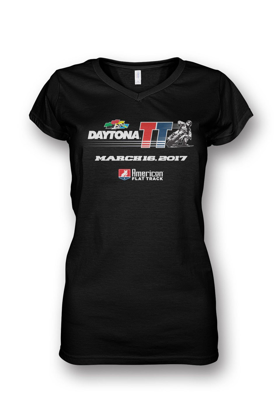 Event: 2017 Daytona - Women's V-Neck S/S Black