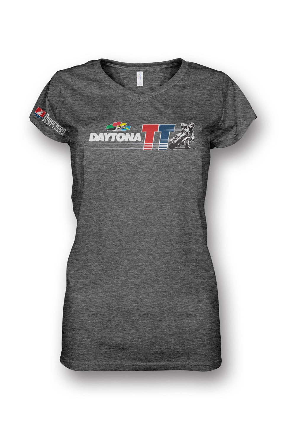 Event: 2017 Daytona - Women's V-Neck S/S Grey