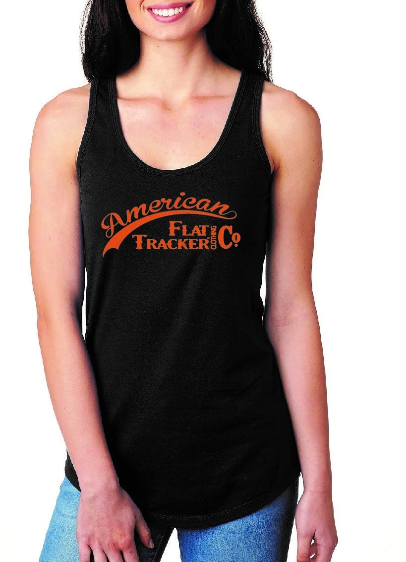 AFTCC: Logo - Tank Top (2018) - Women's  Black Orange