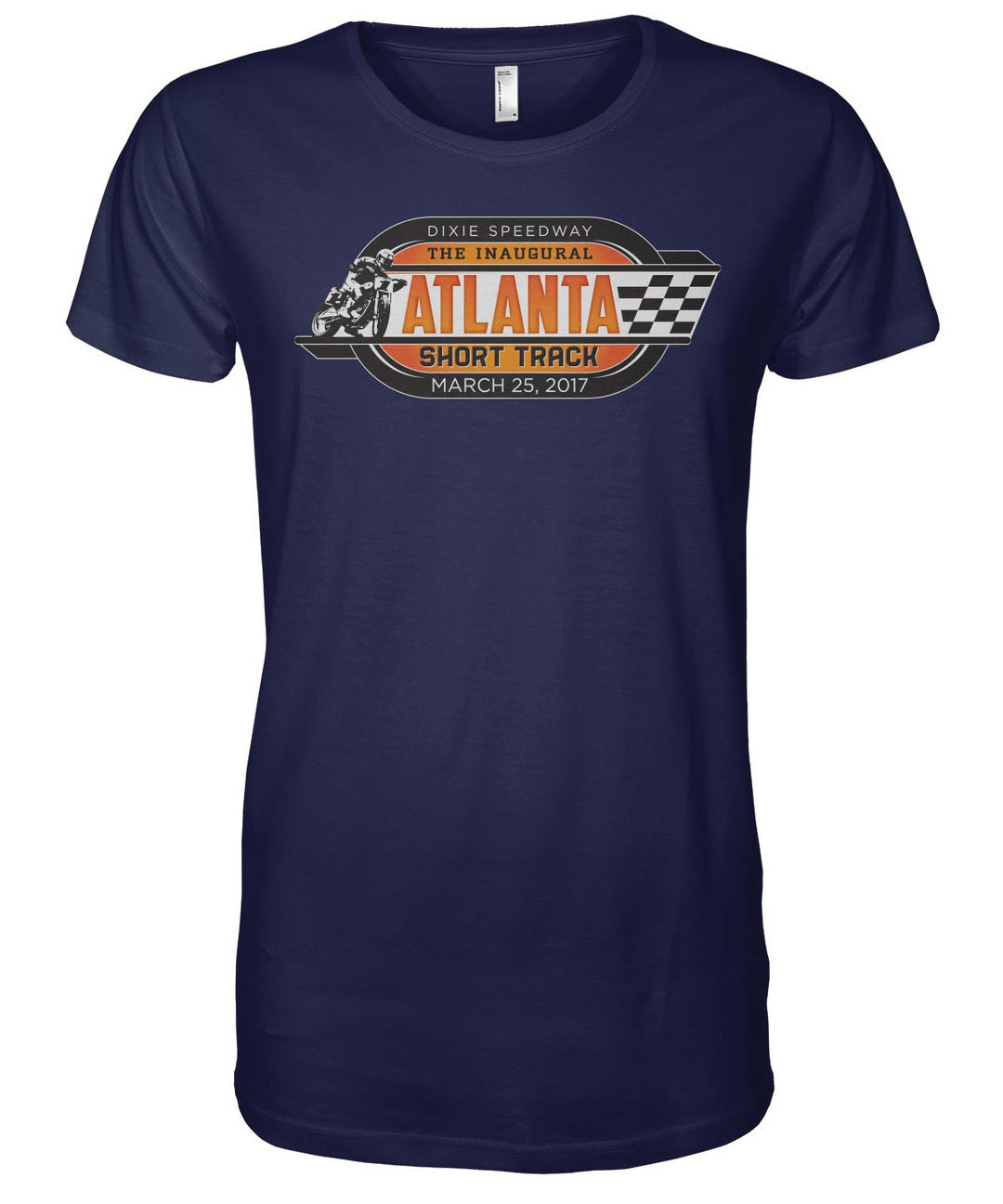 atlanta short track event merchandise american flat tracker