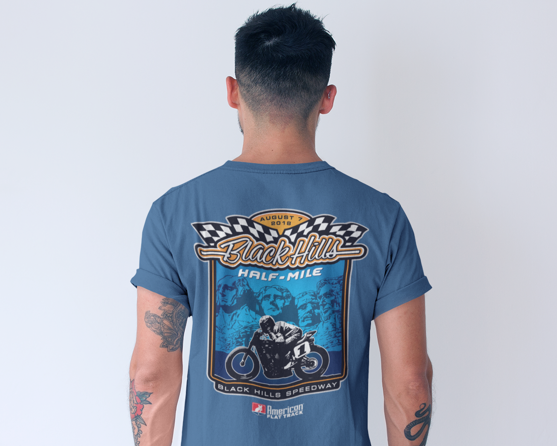 Event: 2018 Black Hills - Men's Shirt Blue