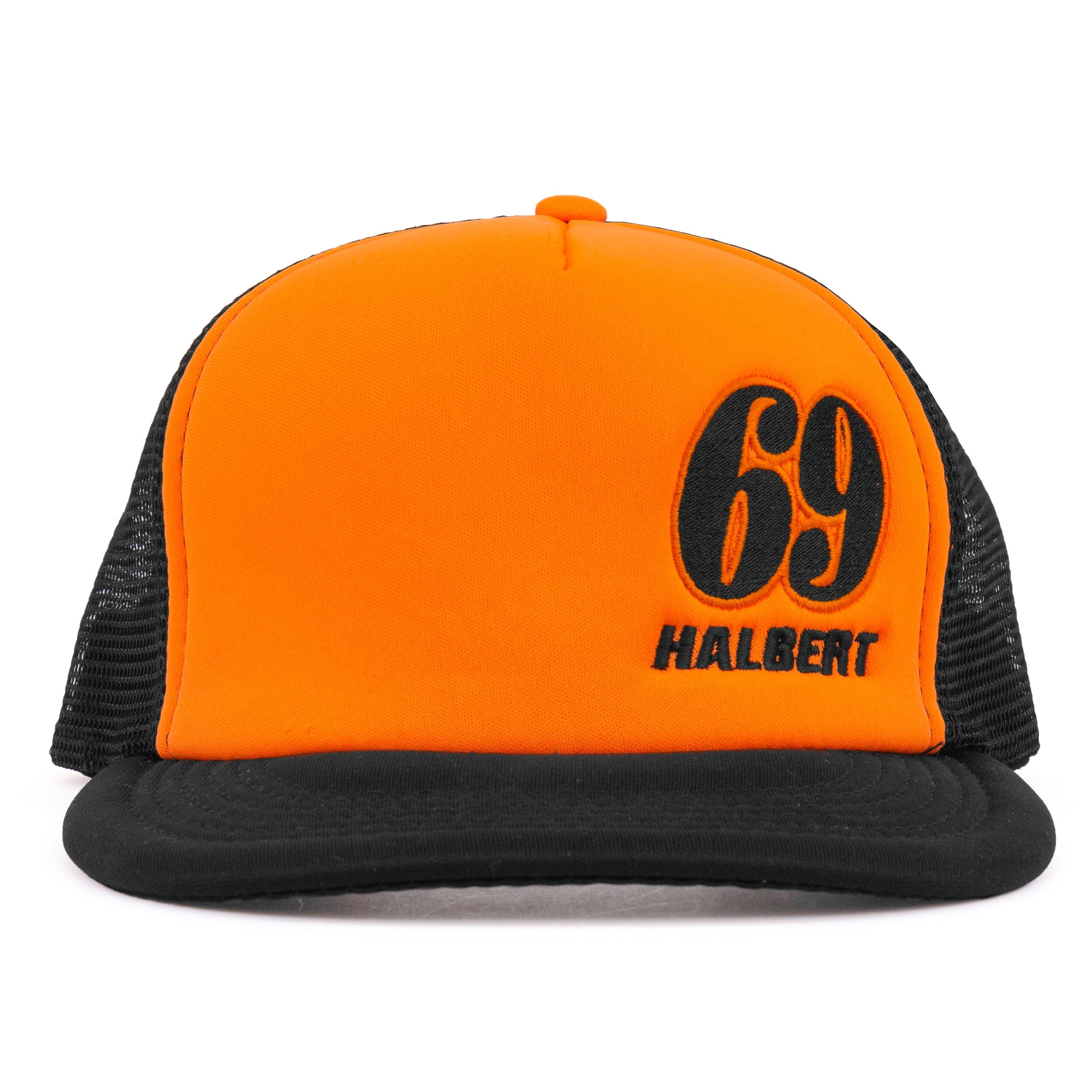 Halbert: 2018 Mesh - Hat  Orange Black-Regular
