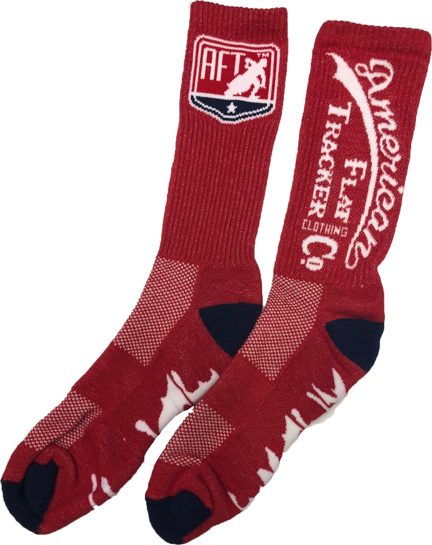 AFTCC:  Sock -  Crew Red