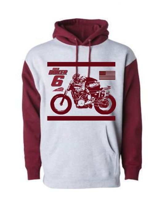 AUTHENTIC BRAD BAKER HOODY - 2 COLOR
